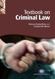 Cover of: Textbook on Criminal Law (Textbooks)