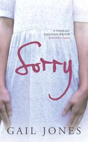 Cover of: Sorry