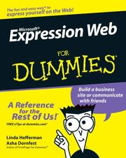 Cover of: Microsoft Expression Web For Dummies | Linda Hefferman
