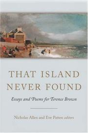 Cover of: That island never found