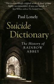 Cover of: Suicide Dictionary | Paul Lonely