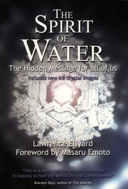Cover of: The Spirit of Water
