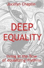 Cover of: Deep Equality