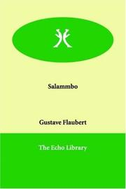 Cover of: Salammbo by Gustave Flaubert