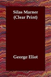 Cover of: Silas Marner (Clear Print) by George Eliot