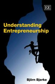 Cover of: Understanding Entrepreneurship