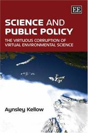 Cover of: Science and public policy