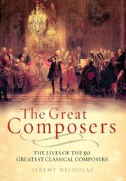 Cover of: The great composers