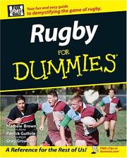 Cover of: Rugby for Dummies | Patrick  Guthrie