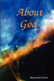 Cover of: About God | Raymond Creed
