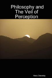 Cover of: Philosophy and The Veil of Perception | Harry Cleeveley