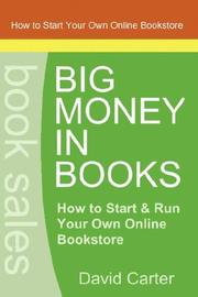 Cover of: Big Money in Books | David Carter