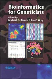 Bioinformatics for Geneticists
