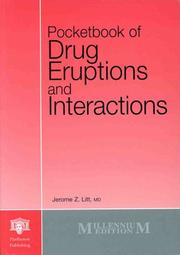 Cover of: Pocketbook of Drug Eruptions and Interactions