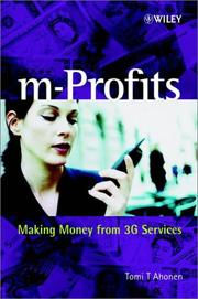 Cover of: M-Profits | Tomi T. Ahonen