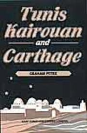 Cover of: Tunis-Kairous-An and Carthage | G. Petrie