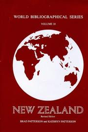 Cover of: New Zealand | Brad Patterson