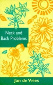 Cover of: Neck and Back Problems