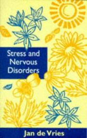 Cover of: Stress & Nervous Disorders (By Appointment Only)