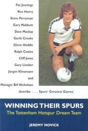 Cover of: Winning Their Spurs | Jeremy Novick