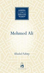 Cover of: Mehmed Ali (Makers of the Muslim World)