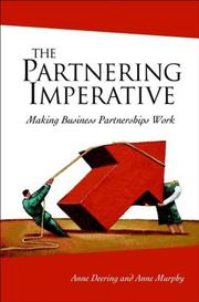 Cover of: The Partnering Imperative | Anne Deering