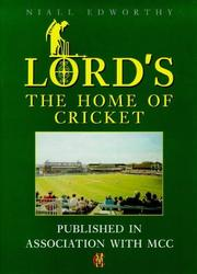 Cover of: Lord's