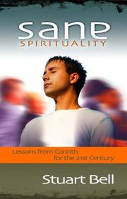 Cover of: Sane Spirituality