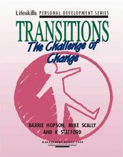 Cover of: Transitions | Barrie Hopson