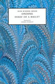 Cover of: Ondine: Diary of a Ballet