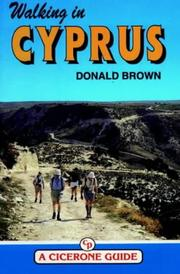 Cover of: Walking in Cyprus | Donald Brown