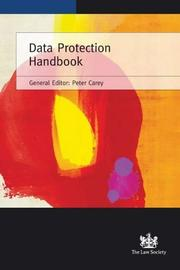 Cover of: Data Protection Handbook