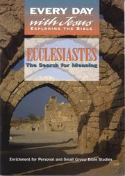 Cover of: Ecclesiastes