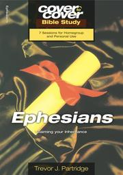 Cover of: EPHESIANS - CLAIMING YOUR INHERITANCE (Cover To Cover)