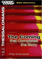 Cover of: First Letter To The Thessalonians/Bible Discovery Series (Cover To Cover)