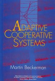 Cover of: Adaptive cooperative systems