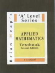 Cover of: Applied Mathematics ('A' Level)