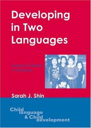 Cover of: Developing in Two Languages | Sarah J. Shin
