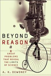 Cover of: Beyond Reason: Eight Great Problems That Reveal the Limits of Science