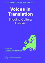 Cover of: Voices in Translation | Gunilla Anderman