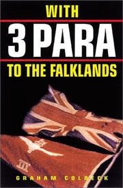 Cover of: With 3 Para to the Falklands | Graham Colbeck