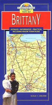 Cover of: Brittany Travel Map