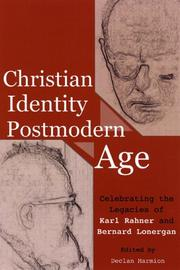 Cover of: Christian Identity in a Postmodern Age