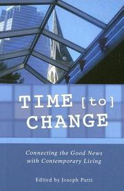 Cover of: Time for Change | Joseph Putti