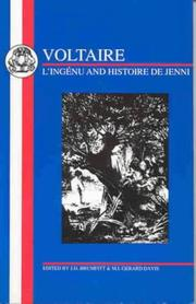 Cover of: Voltaire | J. Brumfitt
