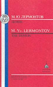 Cover of: Lermontov