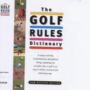 Cover of: The Golf Rules Dictionary