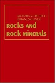 Cover of: Rocks and rock minerals