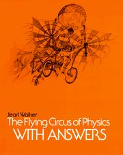 Cover of: The flying circus of physics, with answers