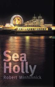 Cover of: Sea Holly | Robert Minhinnick